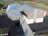 Anglesey School drone video