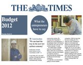 ModCell - 'The Times' budget 2012